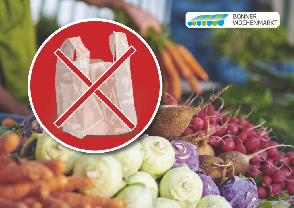 Plastiktütenverbot auf den Bonner Märkten